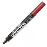 Маркер перманентный Centropen 8510 красный, 2.5мм, пулевидный наконечник