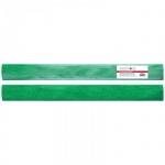 Бумага крепированная Greenwich Line, 50х100см, 60 г/м2, металлик, зелёная