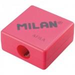 Точилка Milan Afila 1 отверстие, без контейнера, ассорти