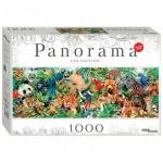 Пазл Step Puzzle Panorama, 1000 элементов, Мир животных