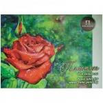 Папка для акварели Palazzo Алая роза А3, 260г/м2, 20 листов, тиснение скорлупа