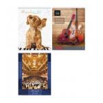 Тетрадь для нот Artspace ассорти, А4, 24 листа, вертикальная, на скрепке, мелованный картон