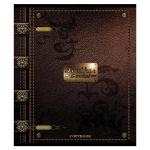 Тетрадь общая Magic Lines Кожа и металл, А5, 96 листов, в клетку, на скрепке, мелованный картон/ лак