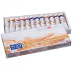 Краска масляная художественная Невская Палитра Мастер класс 12 цветов по 18мл