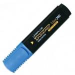Текстовыделитель Line Plus HI-700C, 1-5мм, скошенный наконечник, голубой
