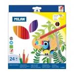 Набор цветных карандашей Milan 211