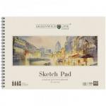 Альбом для рисования Greenwich Line Город, А4, 160 г/м2, 40 листов, на спирали, 40л