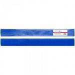 Бумага крепированная Greenwich Line синяя, 50х100см, 60 г/м2, металлик