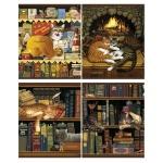 Тетрадь общая Magic Lines Чарльз Высоцкий, А5, 48 листов, в клетку, на скрепке, мелованный картон/ лак