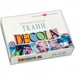 Краска для росписи тканей Невская Палитра Декола 12 цветов по 20мл