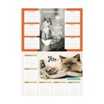 Расписание уроков Artspace Милые питомцы, А3