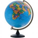 Глобус политический Глобусный Мир 32см, на круглой подставке, рельефный