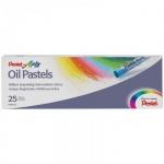 Пастель художественная Pentel Arts Oil Pastels 25 цветов, масляная