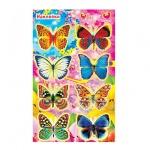 Наклейки декоративные детские Лис Бабочки, А5