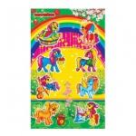 Наклейки декоративные детские Лис Пони, А5