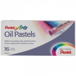 Пастель художественная Pentel Arts Oil Pastels 16 цветов, масляная