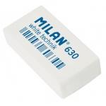 Ластик Milan 630 White Technic 39х19х9мм