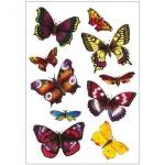 Наклейки декоративные детские Herma Magic 3D Экзотические бабочки, 16х9см, объемные