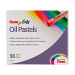 Пастель художественная Pentel Arts Oil Pastels 36 цветов, масляная