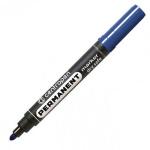 Маркер перманентный Centropen 8510, 2.5мм, пулевидный наконечник, синий