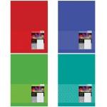 Тетрадь Bg Multi Color, 160 листов, в клетку, на спирали, твердый картон, А5