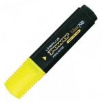 Текстовыделитель Line Plus HI-700C, 1-5мм, скошенный наконечник, жёлтый