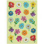 Наклейки декоративные детские Herma Magic Поляна цветов, 16х9см, объемные