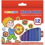 Набор пластики Невская Палитра Цветик, 12 цветов