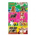 Наклейки декоративные детские Лис Собаки, А5