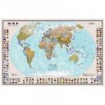 Карта настенная Dmb Мир политическая, М-1:30 000 000, 122х79см