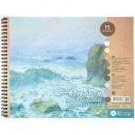 Альбом для пастели Palazzo Aquamarine, А4, 160 г/м2, 54 листа, на спирали