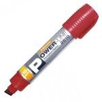 Маркер перманентный Line Plus PER-2610 красный, 10мм, скошенный наконечник