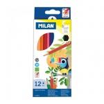 Набор цветных карандашей Milan 211, 12 цветов