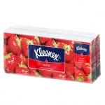 Носовые платки Kleenex 10шт, 3 слоя, клубника