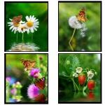Тетрадь общая Magic Lines Рай для бабочек, А4, 96 листов, в клетку, на спирали, мелованный картон