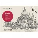 Альбом для рисования Greenwich Line Город, А4, 160 г/м2, на склейке, 32л