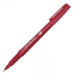 Маркер перманентный Line Plus 200UF, 0.5мм, пулевидный наконечник, красный