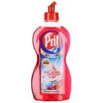 Средство для мытья посуды Pril Дуо Актив 450мл, грейпфрут/ вишня, гель