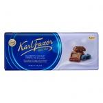 Шоколад Fazer черничный йогурт, молочный, 200г