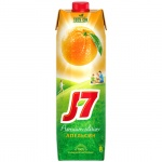 Сок J-7, 0.97л, апельсин  с мякотью