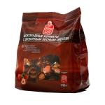 Конфеты Fine Life темный шоколад с дробленым орехом, 250г