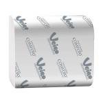 Туалетная бумага Veiro Professional Comfort листовая, белая, 250 листов, 2 слоя, 21 х 10.8см