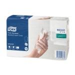 Бумажные полотенца Tork Universal H2, 471117, листовые, 190шт, 2 слоя, белые