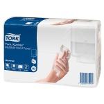 Бумажные полотенца Tork Universal H2, 471103, листовые, 190шт, 2 слоя, белые