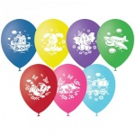 Воздушные шары Поиск детская тематика, 30см, 50шт