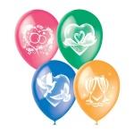 Воздушные шары Поиск свадебная тематика, 30см, 25шт