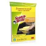 Салфетка хозяйственная Scotch-Brite универсальная, 32х38см, вискоза, 3шт/уп