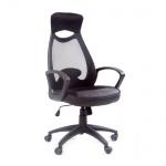 Кресло руководителя Chairman 840 ткань, черная, крестовина пластик, черный