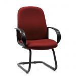 Кресло офисное Chairman 279-V TW, бордо