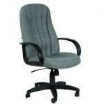 Кресло руководителя Chairman 685 ткань, серая, крестовина пластик